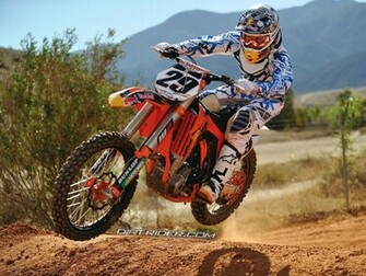 Ktm Dirt Bike Wallpaper   wallpaper