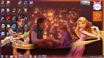 Tangled Desktop by Lisa 24 7
