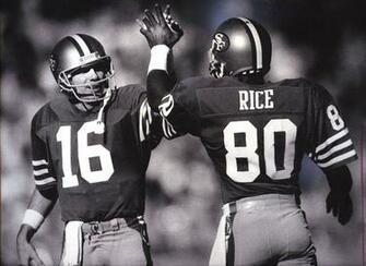 Joe Montana Jerry Rice reflect on Stick   SFGate