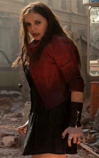 Elizabeth Olsen As Scarlet Witch Wallpapers   800x1280   300204