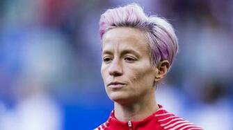 Megan Rapinoe Slammed After Ignoring National Anthem As F You To