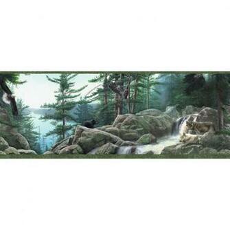 10 14 Wildlife Nature Prepasted Wallpaper Border at Lowescom