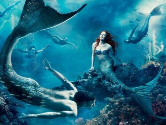 Fantasy Art Mermaid computer desktop wallpapers pictures