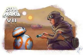 Reys Droid 3   Star Wars The Force Awakens by shadwwithouttheo on