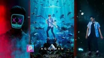 Free Download Colorwonder Aquaman Photo Background 7x5 Vinyl