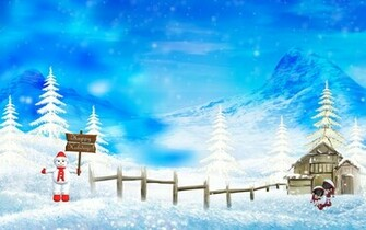 Happy Winter Christmas Holidays Wallpapers HD Wallpapers