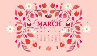 March 2019 Desktop Background Screensaver Calendar 2019