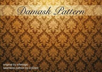 Damask pattern seamless by icydani on deviantart Black Background