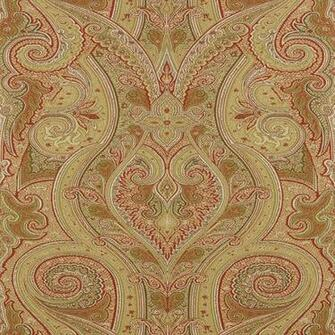 Thibaut Wallpapers   Menswear   Patani T1033 Camel and Red