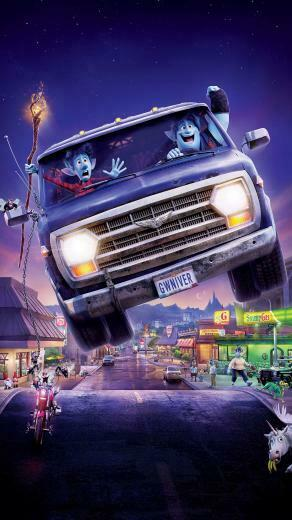 Onward Pixar Movie Poster 2020 Ian Barley 8K Wallpaper 51859