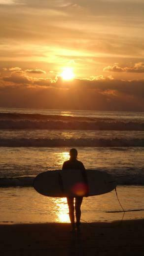 Surfing Sunset iPhone Parallax 3Wallpapers Les 3 Wallpapers iPhone du