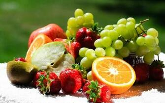 Mixed Fresh Fruit Wallpaper   9869