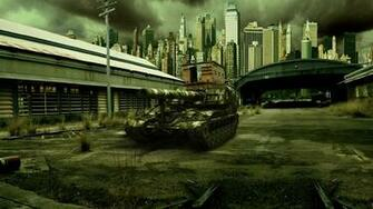 World of Tanks SPG T92 Games Cities military wallpaper 1920x1080