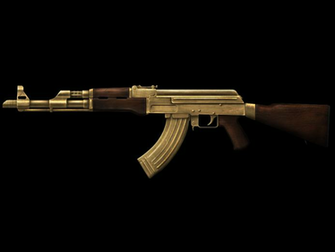 Showing Gallery For Gold Ak 47 Wallpaper