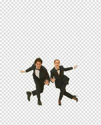 HALEY LU RICHARDSON Y COLE SPROUSE transparent background PNG