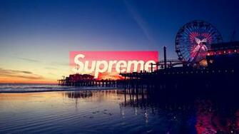 Supreme Los Angeles SUPREME Laptop wallpaper Supreme