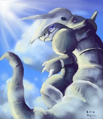 Aggron by LadyKuki