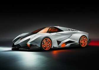 Lamborghini Egoista HD Wallpapers 1080p with orange tint glasses