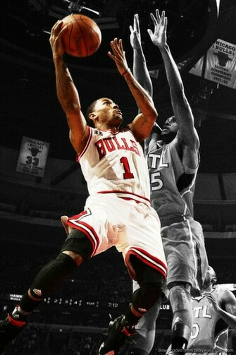 Download Derrick Rose Wallpaper For iPhone 4