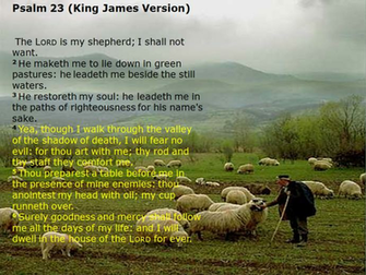 psalms 23 king james version1png
