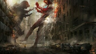 Iron Man vs Godzilla wallpaper   1070186