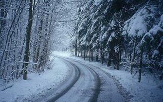 Desktop Wallpapers Winter Road Desktop Wallpapers
