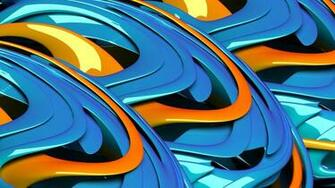 Orange Blue Stereo Backgrounds Widescreen and HD background Wallpaper