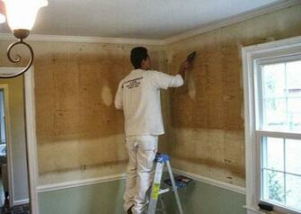 Fixing the Wall After Wallpaper Removal Home n Gardening Tips