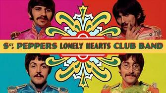 Sgt Pepper wallpaper beatles