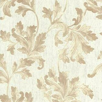 Acanthus White Beige Wallpaper White Wallpaper Wallpaper Online