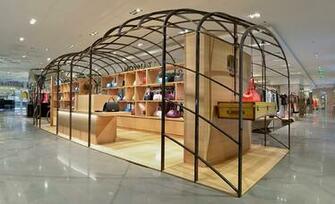 at Parisian department store Galeries Lafayette The pop up shop