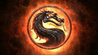 Mortal Kombat Logo Wallpaper Background