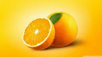 Orange Fruits 4K HD Desktop Wallpaper for 4K Ultra HD TV Dual