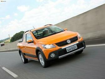 Volkswagen Saveiro Cross V 2010 wallpapers