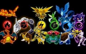 pokemon elements pokemon hd wallpaper for your pcjpg
