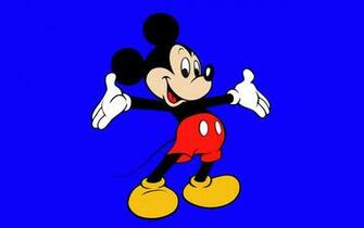 Cartoons Wallpapers   Mickey Mouse   Blue 2560x1600 wallpaper