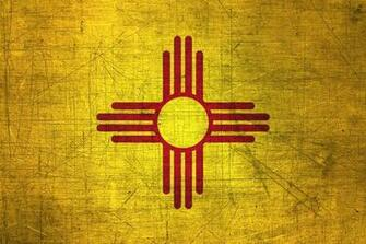 New Mexican Flag Metal Flag of New Mexico   Download it for