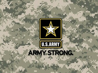 Army Strong Digital Camo Wallpaper