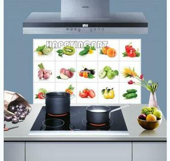 Fruit Wallpaper For Kitchen Kitchen Wallpaper Decal
