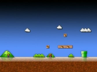 Super Mario Bros hd wallpaper
