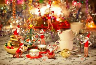 Santas elves prepare for Christmas