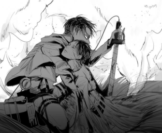 Free Download Cool Levi And Cute Eren Attack On Titan By Minibuddy 800x745 For Your Desktop Mobile Tablet Explore 49 Eren And Levi Wallpaper Eren And Levi Wallpaper Levi