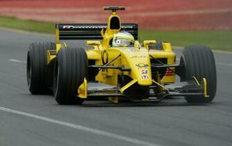 Download wallpaper 1680x1050 jordan ej12 f1 jordan formula one