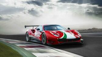 2020 Ferrari 488 GT3 Evo Wallpapers HD Images   WSupercars