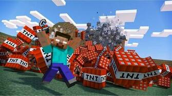 Minecraft Tnt Blast HD Minecraft Lb Photo Photo Realism