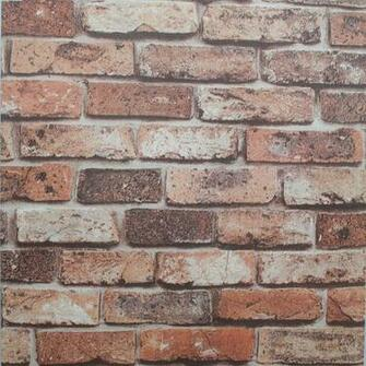 Retro 3D Wallpaper Vintage Natural Brick Wall WallpaperTexture Vinyl