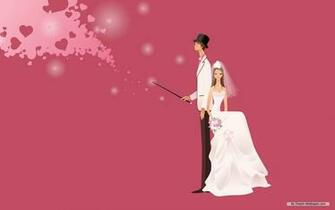Animated Wedding   Weddings Wallpaper 31771382