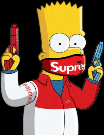 Free Download Iphone 7 Supreme Cartoon Wallpaper 736x1308 For