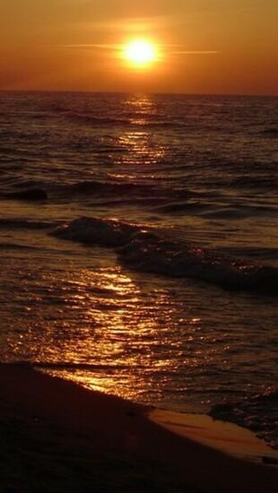 ocean beach sunset wallpaper   Quotekocom