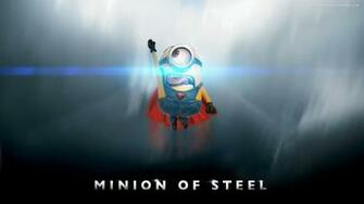 minion man of steel despicable me 2 wallpapers desktop backgrounds